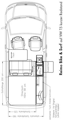 Reimo T6 Bike & Surf Conversion